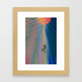 reach out and touch confidence Framed Art Print