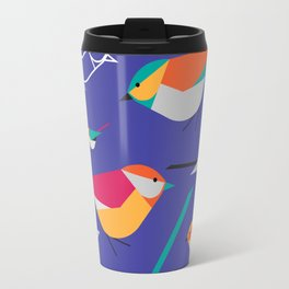 Birds Talk Travel Mug