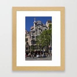 Casa Batlló Framed Art Print
