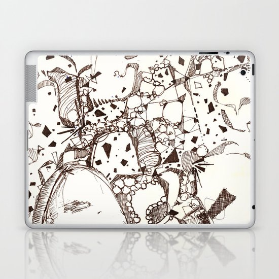 Paper and Pen Laptop & iPad Skin