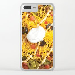 Nachos Clear iPhone Case