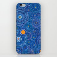 starry night iPhone & iPod Skins featuring Starry Starry Night by Elspeth McLean