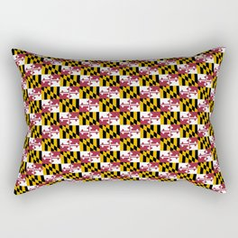flag of maryland 2-america,usa,Old Line State,marylander, America in Miniature,Baltimore,Columbia Rectangular Pillow