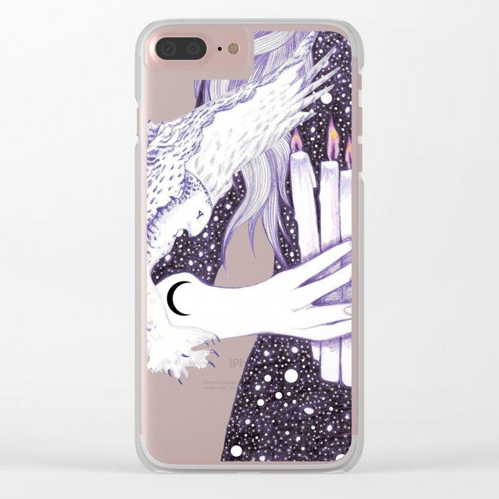Nightwalker Clear iPhone Case