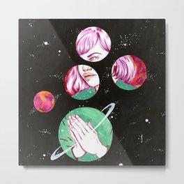 Asteroids Metal Print