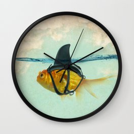 Brilliant Disguise Test Wall Clock