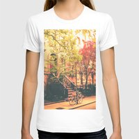 new york city T-shirts featuring New York City by Vivienne Gucwa