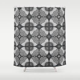 Doodle Pattern 10 Shower Curtain