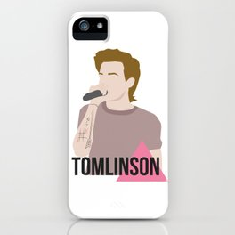 louis tomlinson lgbtq sticker iPhone Case
