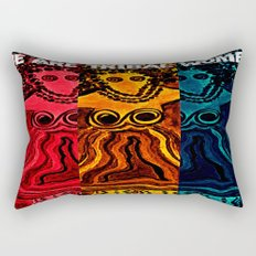We Are Tribal Women ~ The Deep Soul Tribe Rectangular Pillow