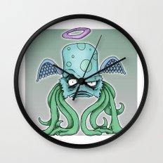 Space Alien Sci Fi art by RonkyTonk Wall Clock