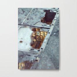 Glimpse Metal Print