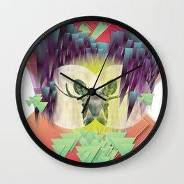 Neon Ritual Wall Clock