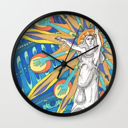 Election Day  Wall Clock