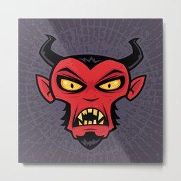 Mad Devil Metal Print