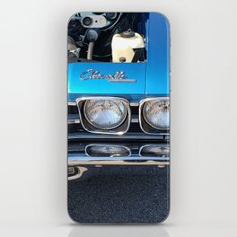 Blue Chevelle iPhone Skin