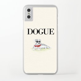 Dogue Clear iPhone Case