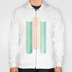 Feather Pattern Hoody