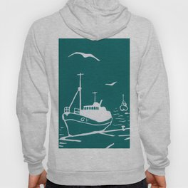 Comrades in Turquoise Hoody