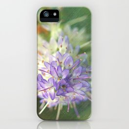 Textured Hebe Macro iPhone Case