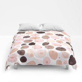 Free the nipple Comforters