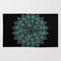 emerald Area & Throw Rugs featuring emerald by Sproot
