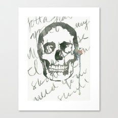 I Want Your Skull Canvas Print