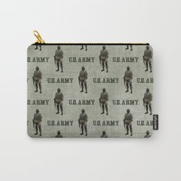 US Army Green Soldier Carry-All Pouch