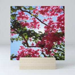 Perfect Pink Bougainvillea In Blossom Mini Art Print