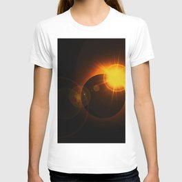 Total  Eclipse Astro Photography T-shirt