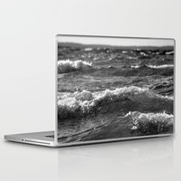 wave Laptop & iPad Skins featuring Wave by Pure Nature Photos