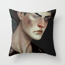 Little Hawke Throw Pillow