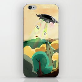 Unknow Planet iPhone Skin