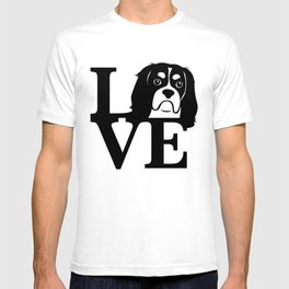 Cavalier King Charles Spaniel Love T-shirt
