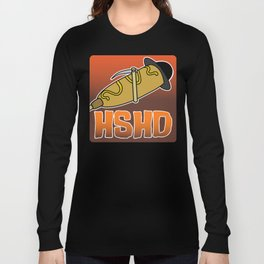 Horrorshow Hot Dog Logo - Children of the Corndog variant Long Sleeve T-shirt