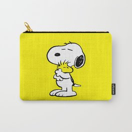 Snoopy and Woodstock Carry-All Pouch