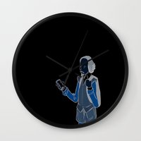 shakespeare Wall Clocks featuring Shakespeare by Matthew Morris
