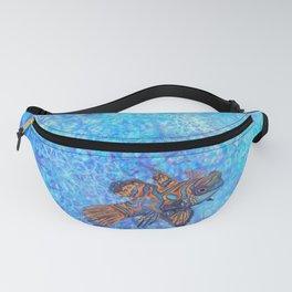 Mandarinfish in Water Fanny Pack