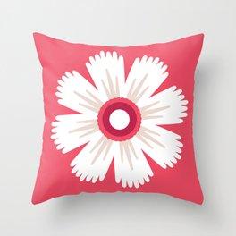 Sun and petals Throw Pillow