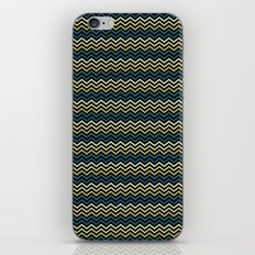Chevron #265C73 iPhone & iPod Skin