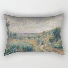 Landscape around Essoyes Rectangular Pillow