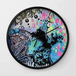 Distant Interval Wall Clock