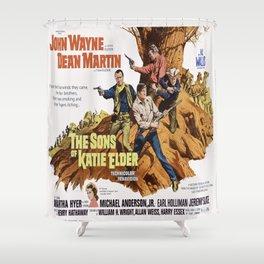 John Wayne - The Son's of Katie Elder Shower Curtain