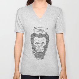Bigfoot  Unisex V-Neck