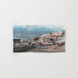 Portuguese harbour Hand & Bath Towel