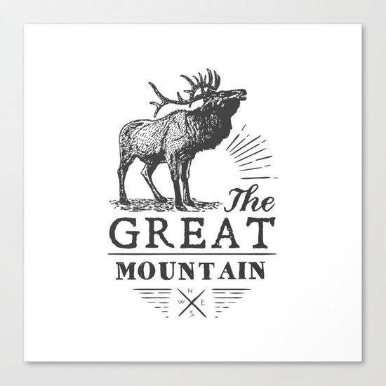 american deer Canvas Print