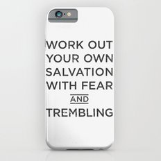 fear & trembling, brothers. iPhone 6s Slim Case