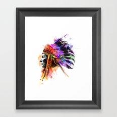 Harmony Apache Framed Art Print