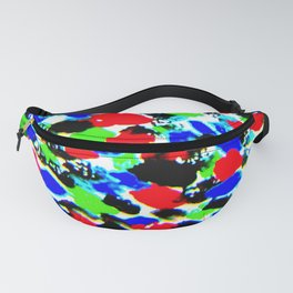 Art Bright Abstract Print Fanny Pack