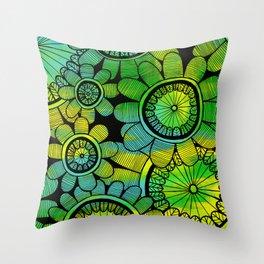 Big Floral 2 Throw Pillow